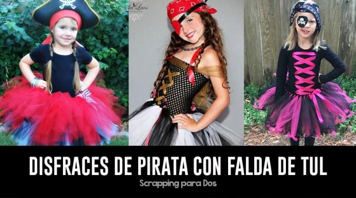 Disfraces de Pirata con Falda de Tul
