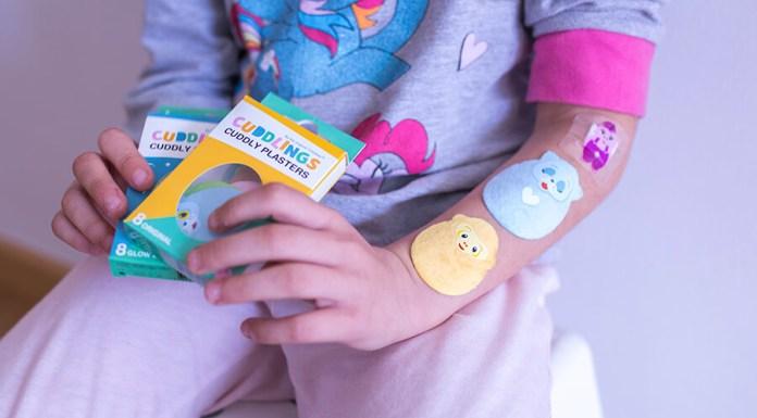 Tiritas para Niños Cuddlings