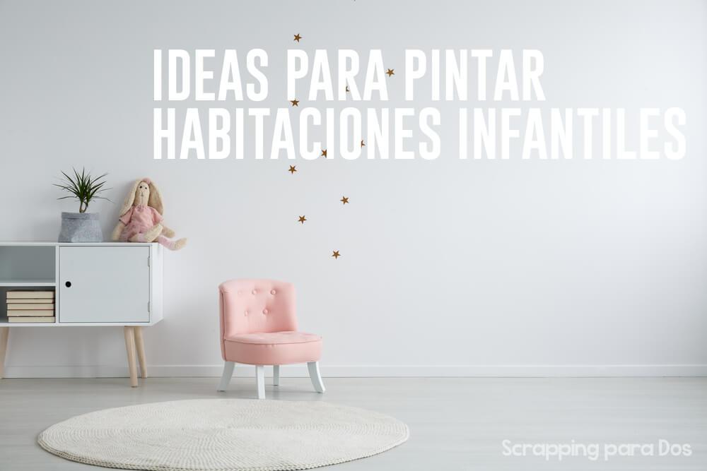 Ideas Para Pintar Habitaciones Infantiles - Como-pintar-habitacion-infantil