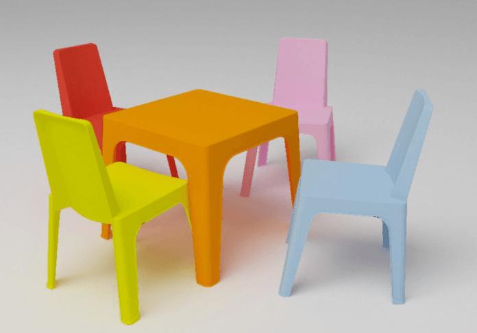 Conjuntos de Mesa y Sillas para Niños