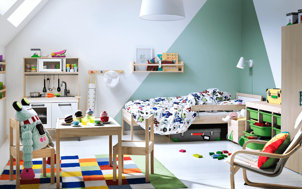 10 habitaciones para niños de Ikea: Ideas para decorarlas