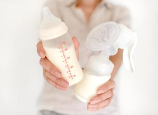 Formas de almacenar la leche materna