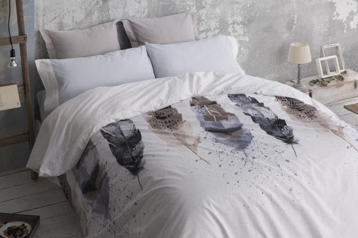 08020085942 Funda nórdica estampada gris 356. Fundas nórdicas y ropa de cama Burrito  Blanco
