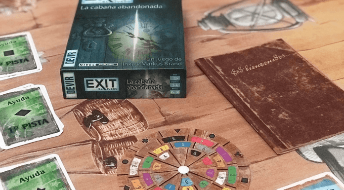 Escape Room: Exit The Game - La cabaña abandonada