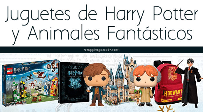 Juguetes de Harry Potter y Animales Fantásticos