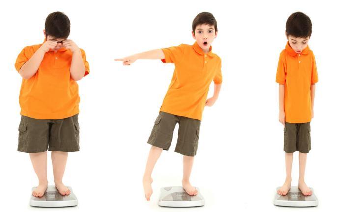 Niños con sobrepeso