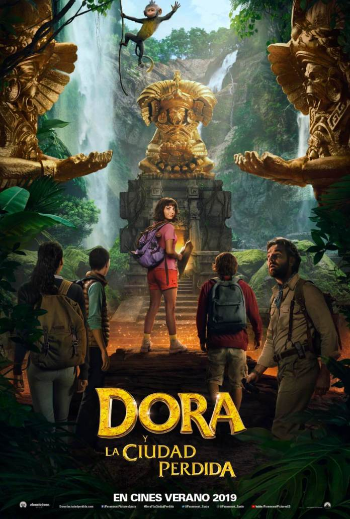Primer poster oficial de Dora Exploradora, la película