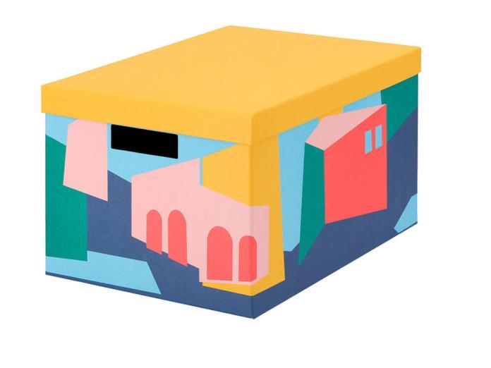 Caja con tapa