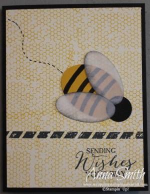Butterfly Basics Bee Card