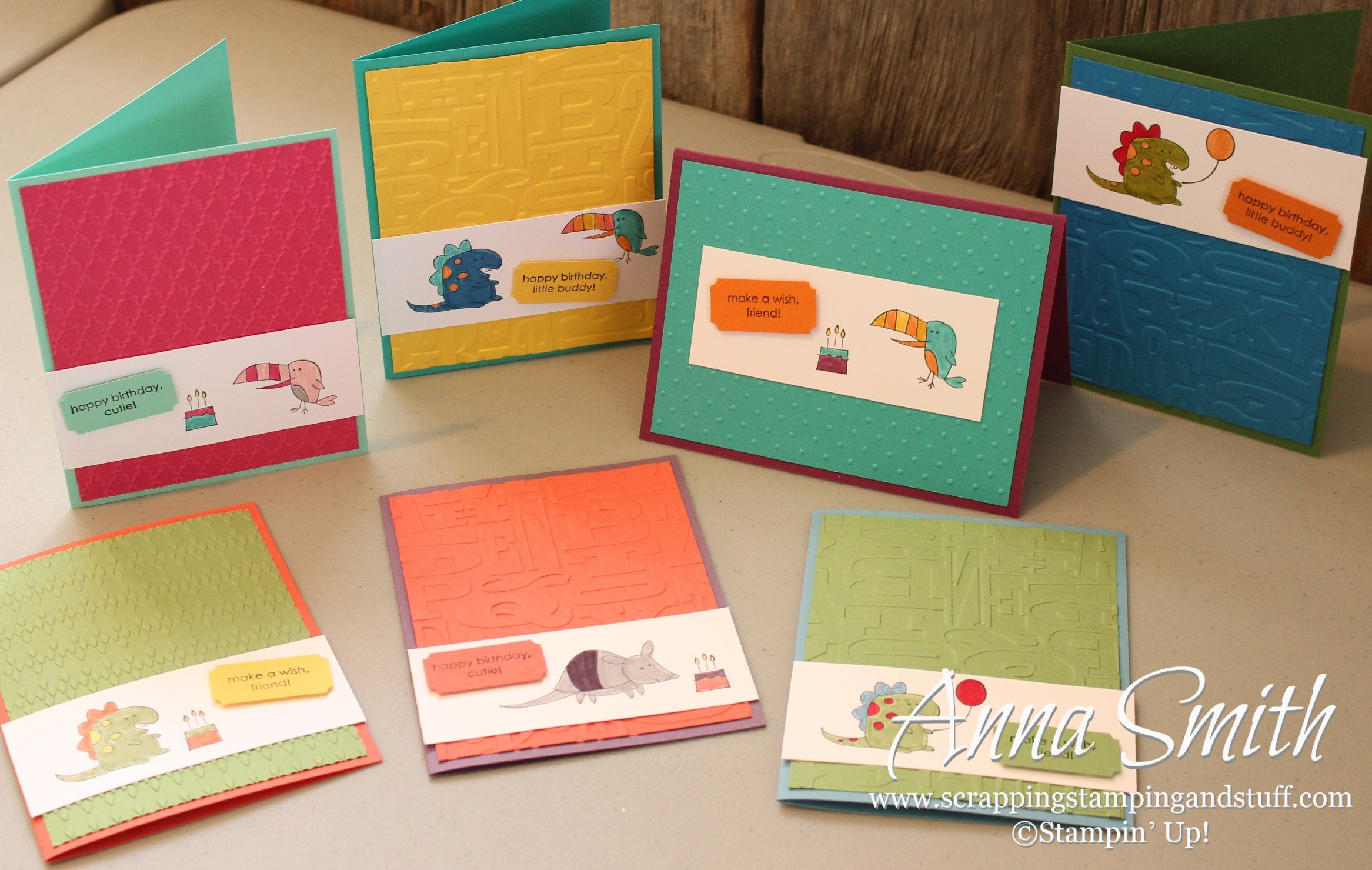 Little Buddy Birthday Cards For Kids Scrapping Stamping