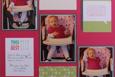 Project Life Scrapbook Page Stampin' Up!