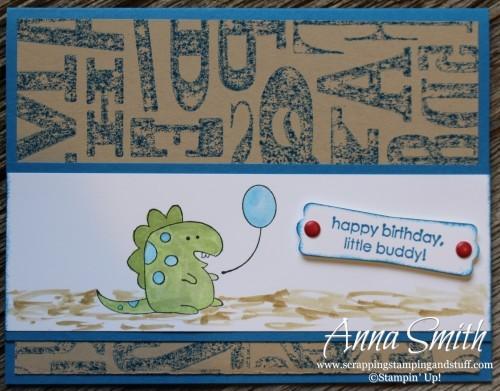 Little Buddy Birthday Card