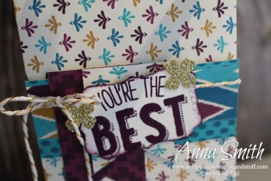 Custom Gift Bags with the Gift Bag Punch Board