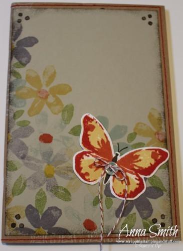 Hand Stamped Notebook