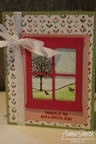 Happy Scenes Bundle Cards made using Stampin' Up! Happy Scenes stamp set and Hearth & Home thinlits dies