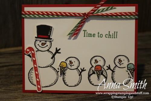 Snow Place Bundle Cute Snowman Card
