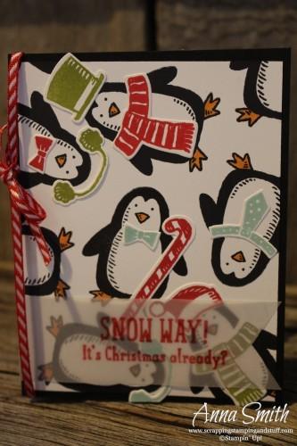 Snow Place Bundle Penguin Christmas Card