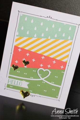 Stampin' Up's Tin of Cards Project Kit makes 16 beautiful cards plus you get the tin and dividers to organize your cards. It's a great gift idea too!