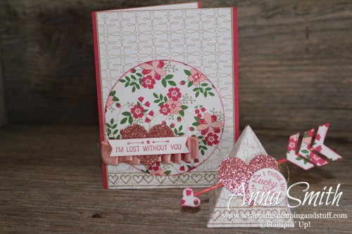 Valentine's Day Card and Treat Box