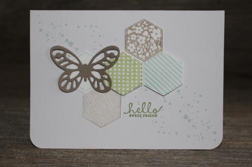 Six Sided Sampler Card