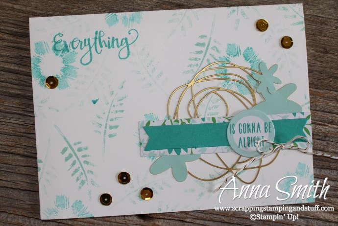 Card made with February, March and April 2016 Past Paper Pumpkin Kits - Hello Sunshine, Pocketful of Cheer, and All About Everything