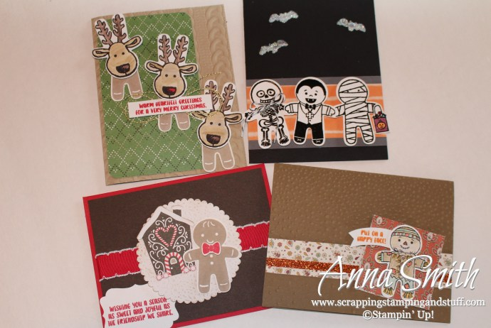 Get these 4 card kits FREE when you order the Cookie Cutter Builder Bundle by September 30!