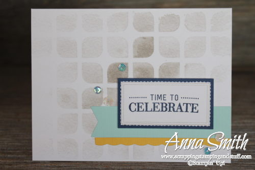 This might be my favorite kit ever - the Stampin' Up! Watercolor Wishes all-inclusive card craft kit