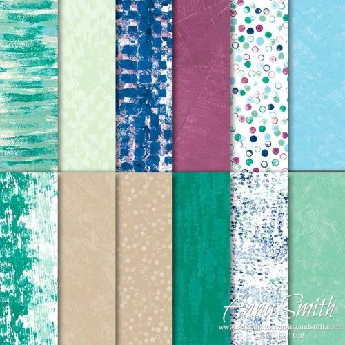 Stampin' Up! Tranquil Textures Designer Series Paper