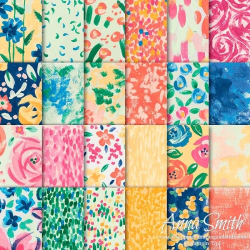 Stampin' Up! Garden Impressions Designer Series Paper