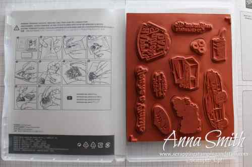 Your rubber stamps will never fall off your clear blocks again! Photo instructions for how to use Stampin' Up! Cling Stamps.