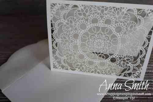 Handmade Card and Matching Tin Gift Set Made Using Stampin' Up! Bird Ballad Designer Paper and Decorative Tin