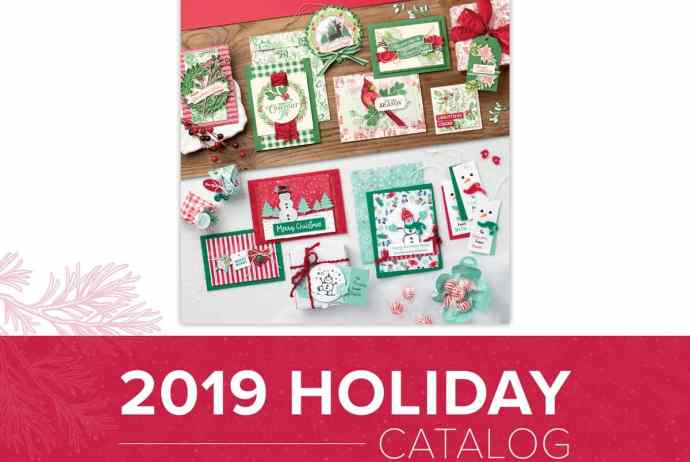 2019 Stampin' Up! Holiday Catalog