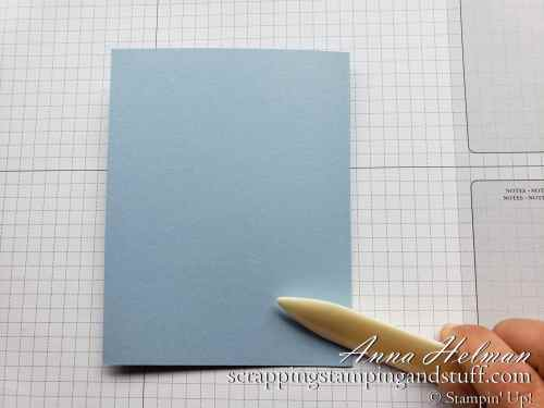 Cardmaking 101 Lesson 1: Learn to Make Pretty Handmade Cards With These Picture Tutorials and the Stampin' Up! Scripty Swirled stamp set