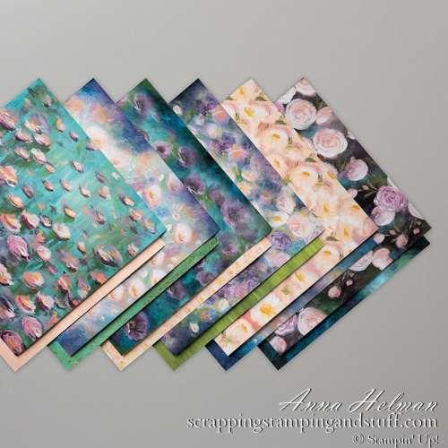 Stampin Up Perennial Essence Designer Paper