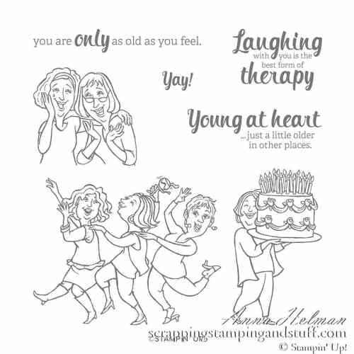 Stampin Up Young at Heart