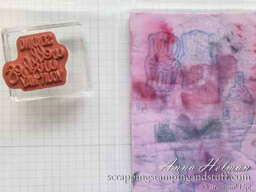 In Cardmaking 101 Lesson 8, you will learn 3 ways to clean your stamps, along with pros and cons of each. Get the answer to 'how do I clean my stamps?'