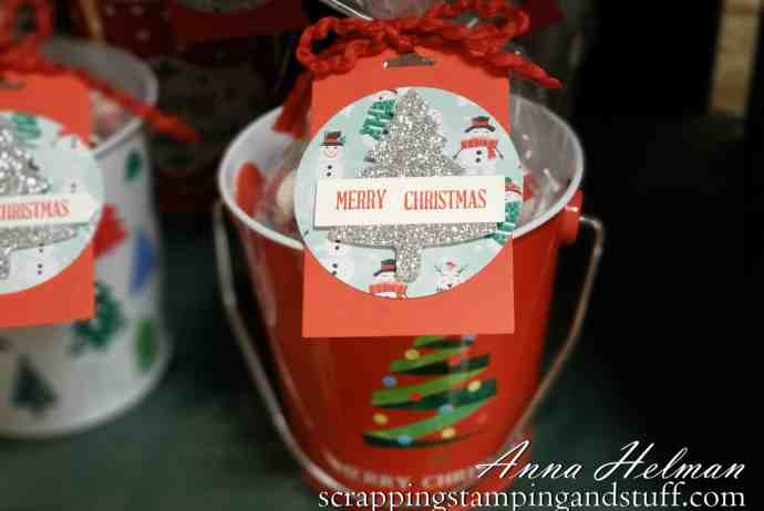 Dollar Store Stocking Stuffer Idea With Stampin' Up Products