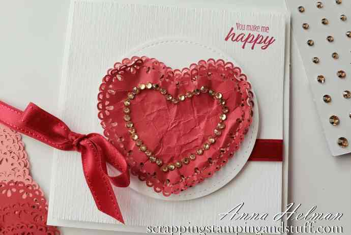 Stampin Up Valentine's Day Card Idea