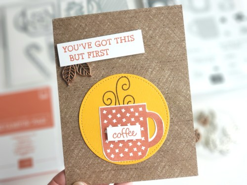 Sale-a-bration Second Release - Stampin' Up! Rise and Shine stamp set, free with qualifying order! Coffee stamps and dies