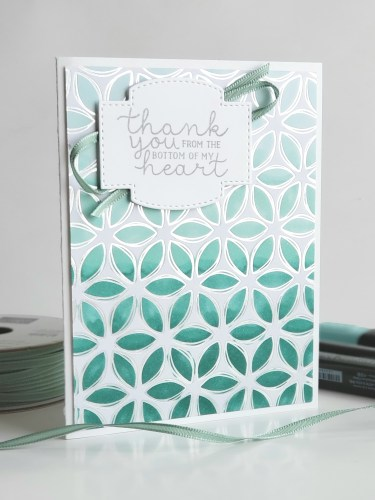 Sale-a-bration Second Release - Stampin' Up! Flowering Foils Specialty Designer Series Paper with gorgeous card samples colored with Stampin Blends alcohol markers