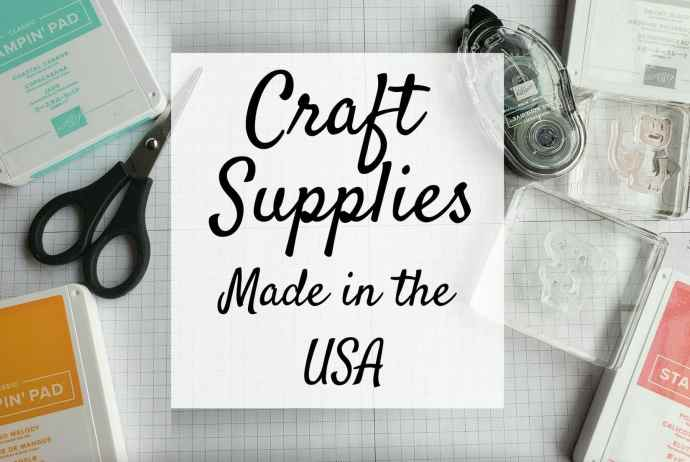 Craft Supplies Made In The USA