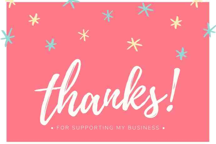 Thank you for $100,000 in sales with Stampin Up