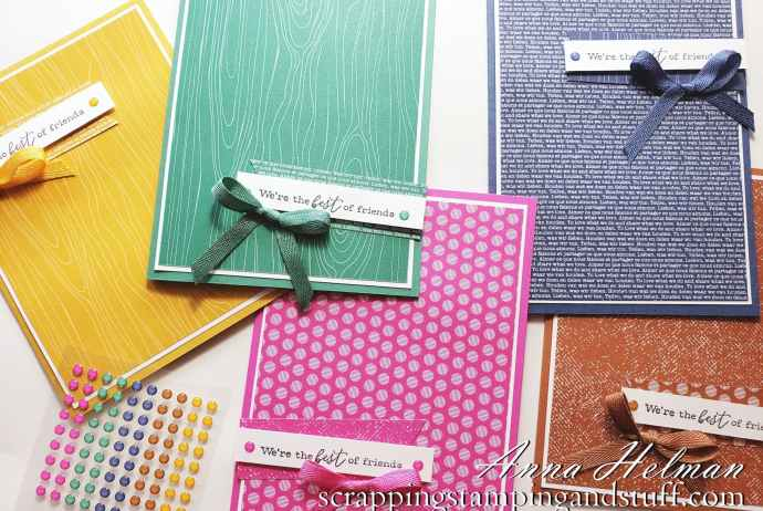 Stampin' Up! 2020-2022 In Colors - Magenta Madness, Misty Moonlight, Bumblebee, Just Jade, and Cinnamon Cider