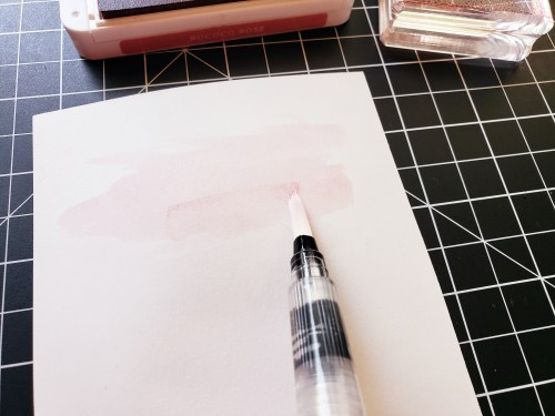 How To Make A Watercolor Wash Background Quickly and Easily With Stampin Up Water Painters and Aqua Painters