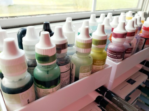 Learn this quick tip for how to store Stampin Up ink pads and reinkers. These easy tricks will make your life better!