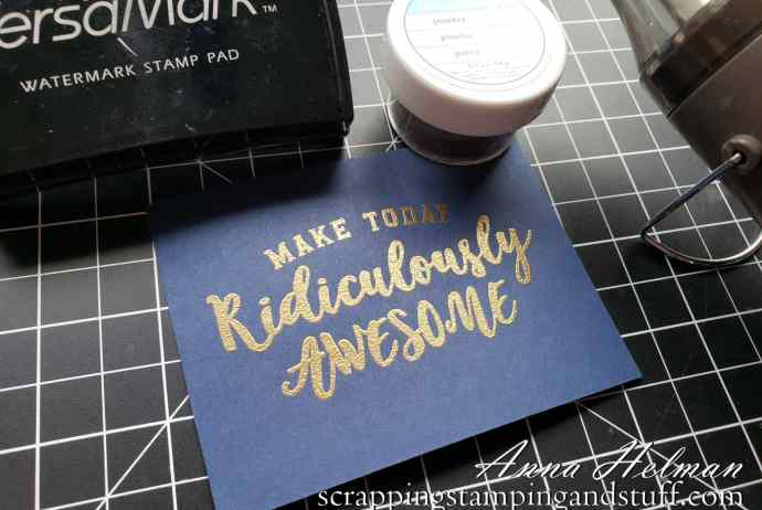 Learn how to emboss paper for beautiful, raised glossy elements on your card and other paper paper craft projects!