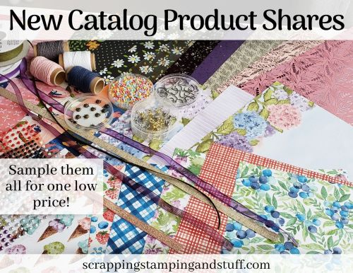 Stampin Up 2021 Mini Catalog Product Shares