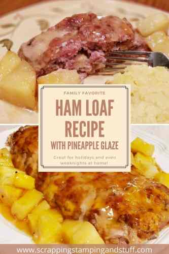 A delicious ham loaf recipe with optional pineapple glaze. A crowd-pleaser for holiday gatherings and even simple weeknight meals at home!