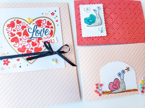Check out these January 2021 Paper Pumpkin Alternatives and ideas for this adorable Valentine's Day card kit!