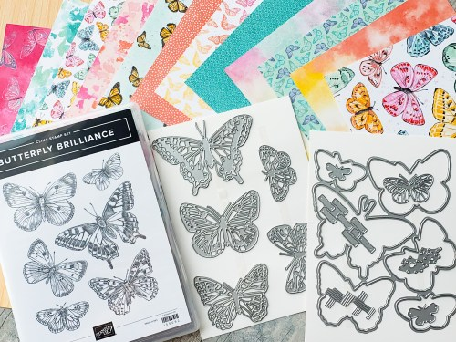 The Stampin Up Butterfly Brilliance bundle is here, and it's gorgeous! Take a look at 8 beautiful card samples here!